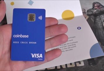Coinbase Card per Italia